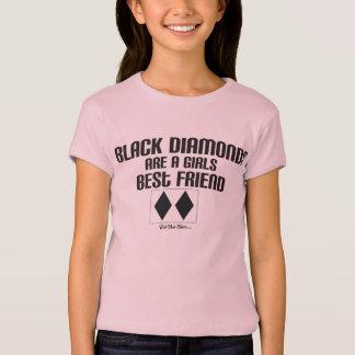 T-shirt Les diamants noirs sont un meilleur ami de gilrs