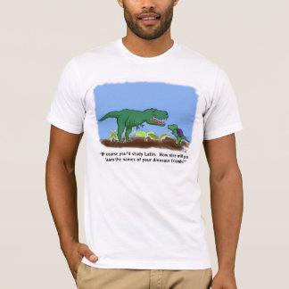 T-shirt Les dinosaures connaissent le latin