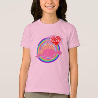 T-shirt Les dinosaures du coeur I (amour) dentellent le