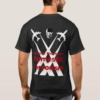 T-shirt Les dispersants chimiques sont terrorisme