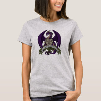 T-shirt Les dragons de Stonefire Crest (pourpre), le