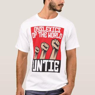 T-shirt Les dyslexiques du monde délient
