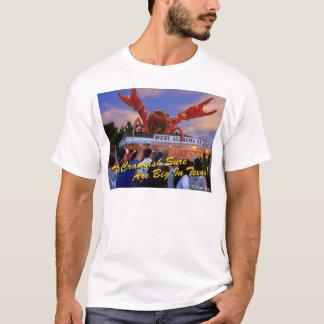 T-shirt Les écrevisses sont grandes dans le Texas