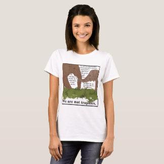 T-shirt Les éléphants ne sont pas des trophées