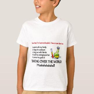 T-shirt Les enfants assurent la conception légère de