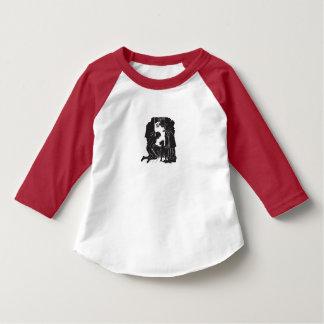 T-shirt Les enfants de wagon couvert : Coup d'oeil sur la
