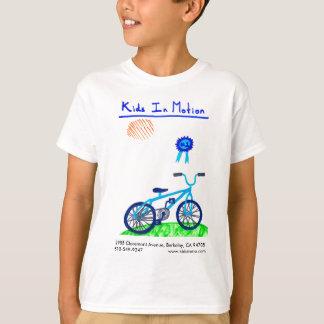 T-shirt Les enfants d'Olivia dans la chemise de mouvement