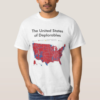 T-shirt Les Etats-Unis de Deplorables