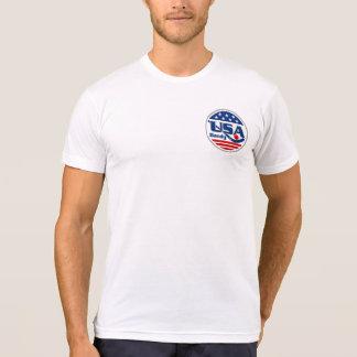 T-shirt Les Etats-Unis échangent la pièce en t des hommes