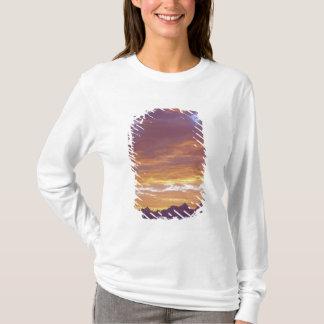 T-shirt Les Etats-Unis, la Californie, coucher du soleil