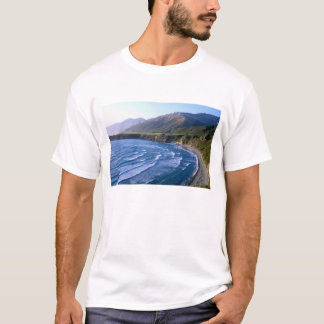T-shirt Les Etats-Unis, la Californie, grand Sur, baie le
