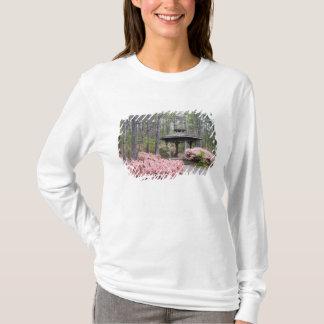 T-shirt Les Etats-Unis, la Géorgie, montagne de pin. Un