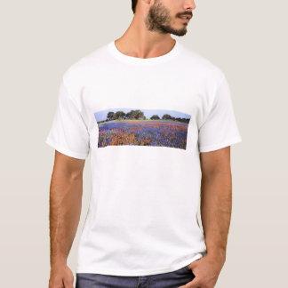 T-shirt Les Etats-Unis, le Texas, Llano. Bluebonnets et