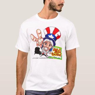 T-shirt LES États-Unis : L'Oncle Sam est ici