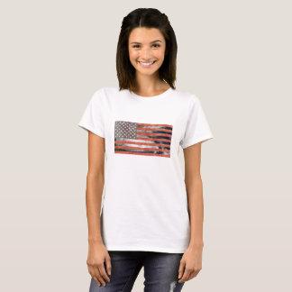 T-shirt Les Etats-Unis marquent la chemise de saison