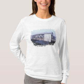 T-shirt Les Etats-Unis, Orégon. Envergures de pont couvert