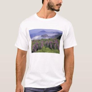 T-shirt Les Etats-Unis, Orégon, plage de Nesika. De loup