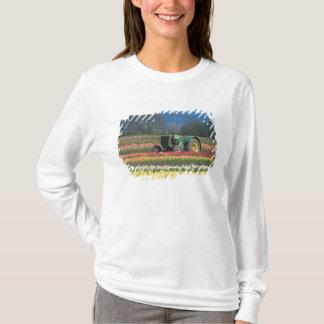 T-shirt Les Etats-Unis, Orégon, Woodburn, tulipe en bois 2