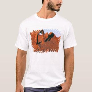 T-shirt Les Etats-Unis, Utah, arquent le NP. La voûte