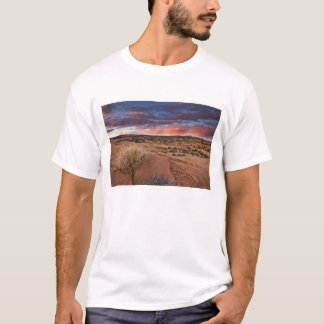 T-shirt Les Etats-Unis, Utah. Coucher du soleil sur le