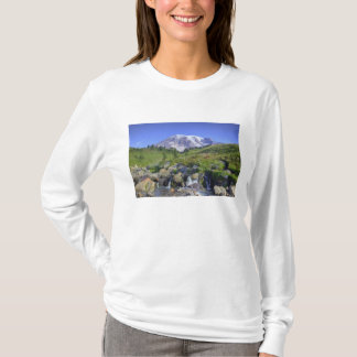 T-shirt Les Etats-Unis, Washington, mont Rainier NP, mont
