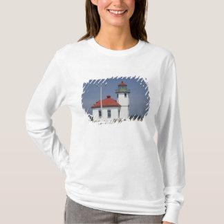 T-shirt Les Etats-Unis, Washington, Seattle, phare de