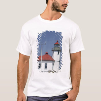 T-shirt Les Etats-Unis, Washington, Seattle, phare de