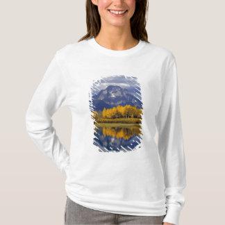 T-shirt Les Etats-Unis, Wyoming, Teton grand NP. Contre