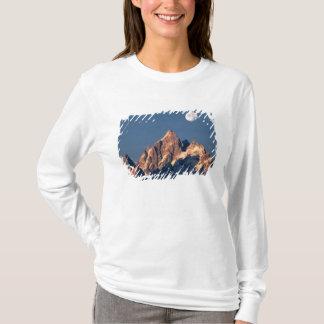 T-shirt Les Etats-Unis, Wyoming, Teton grand NP. D'une