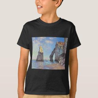 T-shirt Les falaises chez Etretat - Claude Monet