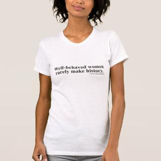 T-shirt Les femmes adaptées bien se sont comportées la