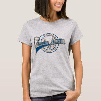 T-shirt Les femmes d'ESDK court-circuitent la chemise de