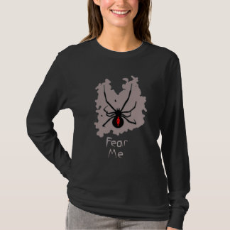 """T-shirt Les femmes """"me craignent """""""