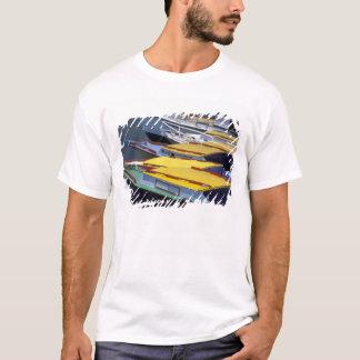 T-shirt Les Fidji, Viti Levu, Lautoka, petits bateaux dans