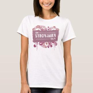 T-shirt Les filles d'exposition d'homme fort