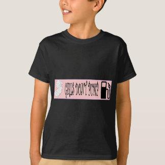T-shirt Les filles du Jersey ne pompent pas le gaz