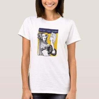 T-shirt Les filles peuvent coder !