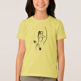 T-shirt Les filles Recurve Archer