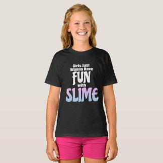 T-shirt Les filles veulent juste avoir l'amusement avec la