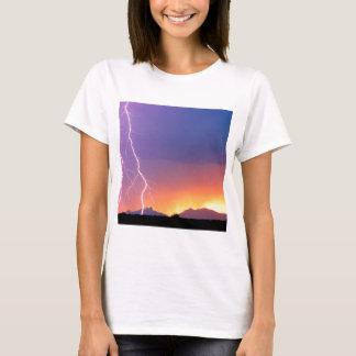 T-shirt Les forces et elles de nature ont dansé la crête