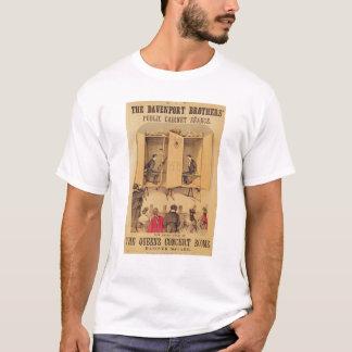 T-shirt Les frères de Davenport, affiche pour le Seance,