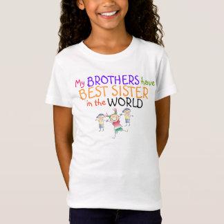 T-Shirt Les frères ont la meilleure chemise de soeur
