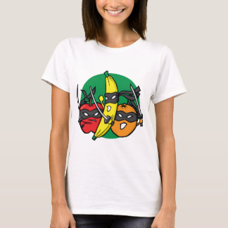 T-shirt Les fruits battent en retraite