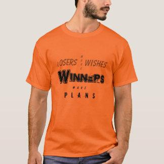 T-shirt Les gagnants font des plans