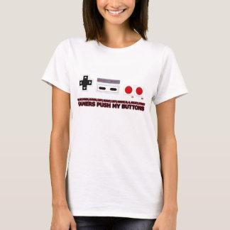T-shirt Les Gamers poussent mes boutons