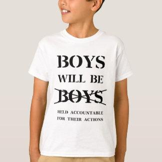 T-shirt Les garçons seront des garçons (la malédiction