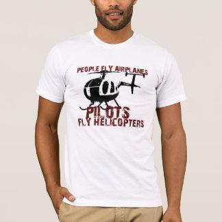 T-shirt Les gens pilotent des avions, pilotes pilotent des