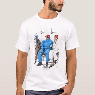 T-shirt Les gens sur la remonte-pente, Whistler-Blackcomb,