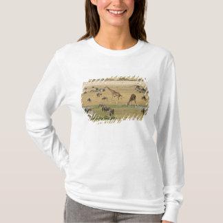 T-shirt Les gnous, les zèbres et les girafes recueillent à