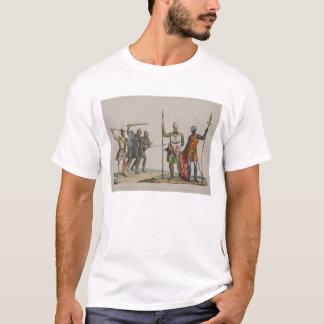 T-shirt Les guerriers anglo-saxons, plaquent 14 'de